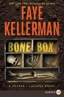 Media Cover for Bone Box : A Decker/Lazarus Novel [large print]