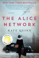 Media Cover for Alice Network : A Novel
