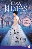 Media Cover for Devil in Spring [large print]