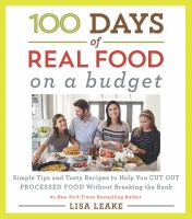 Media Cover for 100 Days of Real Food: on a Budget