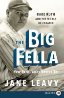 Media Cover for Big Fella : Babe Ruth and the World He Created