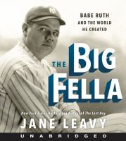 Media Cover for Big Fella CD : Babe Ruth and the World He Created