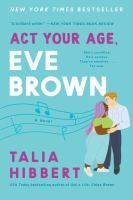 Media Cover for Act Your Age Eve Brown