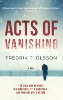Media Cover for Acts of Vanishing : A Novel