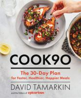 Media Cover for #Cook90 : Cook One Month of Simple Meals at Home--And Change the Way You Eat Forever