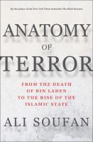 Media Cover for Anatomy of Terror : From the Death of Bin Laden to the Rise of the Islamic State