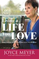 Media Cover for Living a Life You Love