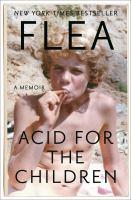 Media Cover for Acid For The Children: A Memoir