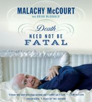 Media Cover for Death Need Not Be Fatal [sound recording (CD)]