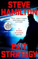 Media Cover for Exit Strategy : A Nick Mason Novel [large print]