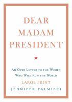 Media Cover for Dear Madam President