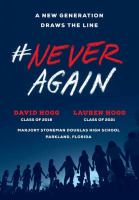 Media Cover for #NeverAgain : a new generation draws the line