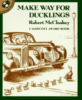 Make Way for Ducklings cover