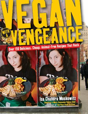 Book cover: Vegan with a Vengeance