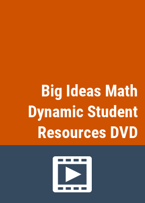 Big ideas math: dynamic student resources.