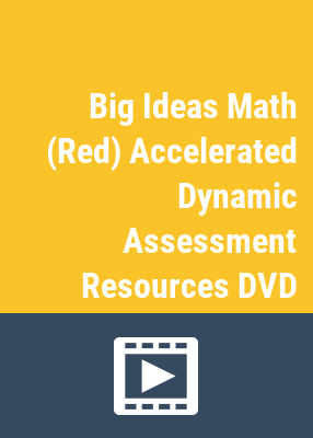 Big ideas math: dynamic assessment resources.