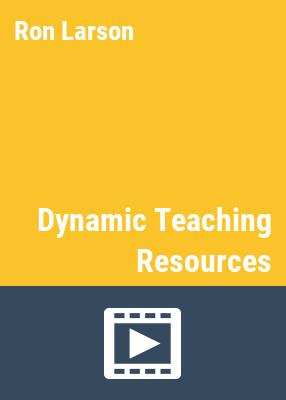 Big ideas math: dynamic teaching resources.